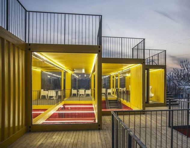 集装箱商业建筑—展览空间设计
